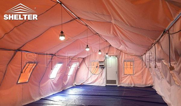 fabric hoop buildings - military surplus tent-medical tents-soldier sleeping ward-emergency first aid shelter-qurantine triage shelters (1)