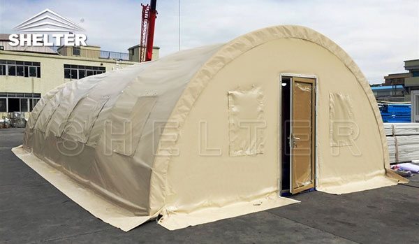 fabric hoop buildings - military surplus tent-medical tents-soldier sleeping ward-emergency first aid shelter-qurantine triage shelters (2)