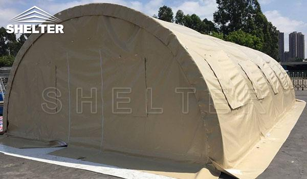 fabric hoop buildings - military surplus tent-medical tents-soldier sleeping ward-emergency first aid shelter-qurantine triage shelters (3)