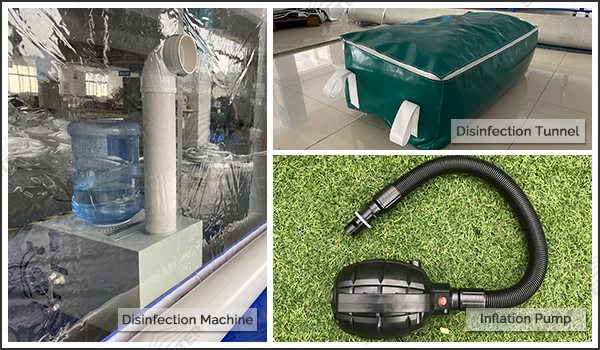 sanitization tunnel package disinfection machine