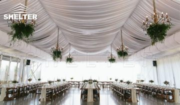 Outdoor Wedding Tent to Make An Amazing Scenic Backdrop for Your Big Day